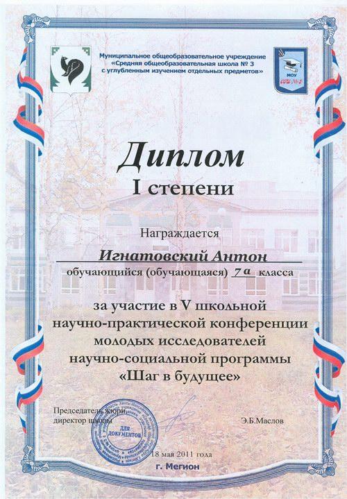 Сайт учителя математики Николаевой Л.В. - Достижения учащихся